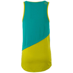 La Sportiva Dihedral - Camisa sin mangas Mujer - Azul petróleo
